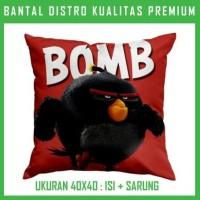 Bantal Angry Bird-Bomb 2 ANGR35 Bantal Sofa/Mobil