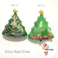 Balon Foil Christmas Tree / Pohon Natal Xmas