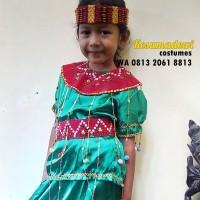 Toraja TK Wanita | Baju Daerah Adat Anak Kostum Karnaval Parade Pawai