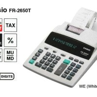 Promo CASIO FR-2650T-WE - Kalkulator Printing IQ-21P Beli Hemat