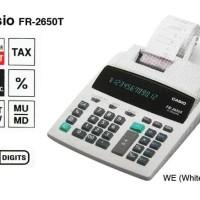 Promo CASIO FR-2650T-WE - Kalkulator Printing ZU-91Q Barang Wajib
