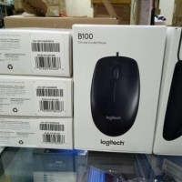 Logitech Mouse Usb B100 Original