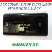 TUTUP BACK COVER XIAOMI REDMI NOTE (3G) /REDMI NOTE 1 BLACK(903946)