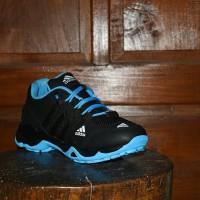 Sepatu Adidas AX2 Goretex Hitam Biru - Sport Outdoor Unisex - AX 13