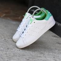 Sepatu Adidas Stan Smith Women Putih Hijau - Sneakers Casual