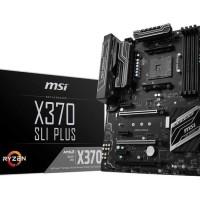 MSI X370 SLI PLUS AM4 AMD X370 ATX Motherboards - AMD