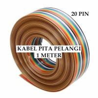 Kabel Pita Pelangi Rainbow 20 Pin