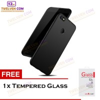 Case Slim Matte For Xiaomi Mi A1 / Mi 5x - Free Tempered Glass