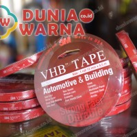 PROMO!! 3M VHB Double Tape Foam Otomotif 12 mm x 4,5 m TERMURAH!