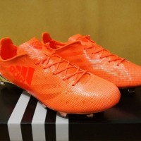 Sepatu Bola / Soccer Adidas Adizero F50 99 Gram Orange Chrome - FG