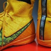 (Dijamin) Sepatu Futsal Nike Elastico Superfly Yellow