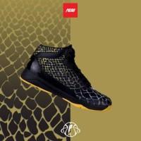 Sepatu Basket Piero Drago Black Gold Original