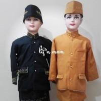 baju adat beskap sunda anak laki tradisonal