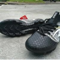 Sepatu Bola Specs Heritage FG Black Gold White Original Promo