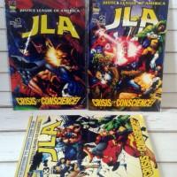 Komik JLA Crisis of Conscience 1-3 TAMAT - PMK Comics