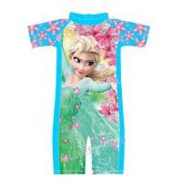 SW1714 - Baju Renang Swimsuit Divesuit Import Anak Cewek Frozen Elsa