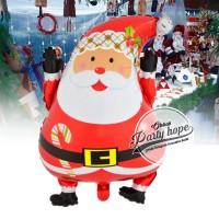 Balon Foil SANTA / Balon Natal / Balon xmas / Balon Christmas Santa
