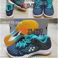 Promo Sepatu Badminton Yonex SHB 03 EX Navy House76
