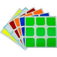 (Murah) Stiker Rubik Moyu Aolong Original Replacement stickers set 3x3
