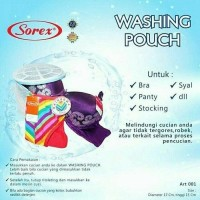 [Kualitas PREMIUM] Washing Pouch Bra Laundry Bag Bra Original Sorex