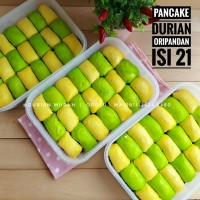 Pancake Durian OriPandan isi 21