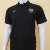Kaos POLO Shirt Timnas Indonesia Hitam Grade ORI