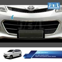 All New Avanza Veloz Front Ring Bumper Cover Chrome/Aksesoris Veloz