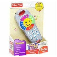 (Dijamin) fisher price click and learn remote
