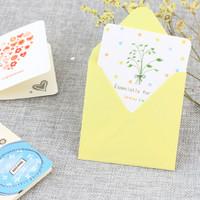kartu ucapan natal christmas tahun baru ulang tahun gift card 3d murah