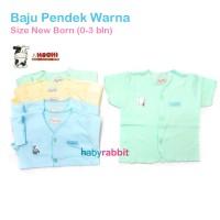 6pcs HACHI Baju Pendek NewBorn / Baju Bayi Hachi Size NewBorn