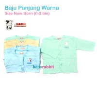 6pcs HACHI Baju Panjang NewBorn / Baju Bayi Newborn