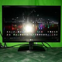 LED Monitor Komputer Pc LG 22inch wide E2241T FULLHD