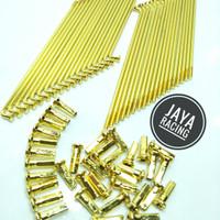Jari Jari Gold Model TDR ready ukuran Ring 14 - 16 -17 -18 semua motor