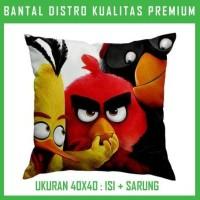 Bantal Angry Bird 30 ANGR30 Bantal Sofa/Mobil
