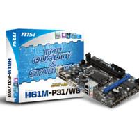 MSI H61M-P31/W8 (LGA1155, Intel H61, DDR3)