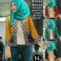 53318/cardigan batik/cardigan songket/tunik wanita/blouse muslim