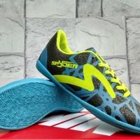 Sepatu Futsal Puma EvoSpeed Putih Pink Sol Hitam (Futsal-Bola-Sport)