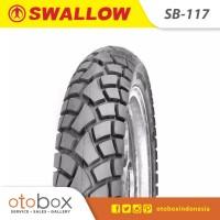 Ban Motor Swallow Tubeless 120/80-17 SB117 Street Enduro TL