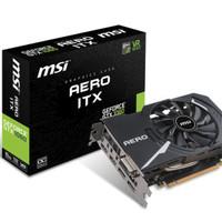 MSI GeForce GTX 1060 6GB DDR5 - AERO ITX 6G OC (Mini IT Berkualitas