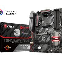 MSI B350 Tomahawk Plus (AM4, AMD Promontory B350, DDR4, Limited