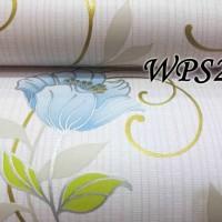 WALLPAPER STICKER WPS231 ELEGANT BLUE FLO WALPAPER STIKER DINDING