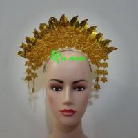 aksesoris mahkota sunting padang baju adat karnaval