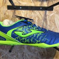 Sepatu futsal joma original maxima biru stabilo new 2017