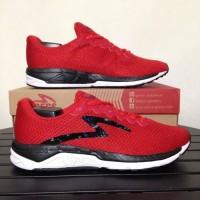 TERMURAH Sepatu Running/Lari Specs Dual Enduro True Red 200505 Origina
