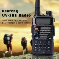 [Free Earphone] Ori Baofeng Dual Band 5W 128CH BF-UV5RE Edisi No Box