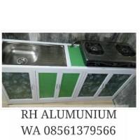 Meja Kompor & Cuci Piring Alumunium ACP