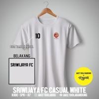 Kaos Tshirt Baju Combed 30S Distro Sriwijaya FC