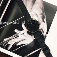 Jam Tangan Daniel Wellington Petite Ashfield BLACK ORIGINAL BNIB
