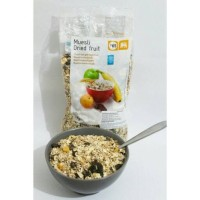 Muesli Dried Fruit Granola Cereal Berat 1000 Gram