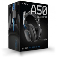 terbaik Headset Gaming Astro A50 Wireless for PS4 (Black)